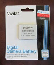 Battery For CANON PowerShot SX280 HS,SX500 IS,SX510HS,SX520 HSNB-6L/NB-6LH
