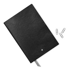 Montblanc Stationery Notebook Black Accessories Write Pen Office Lined 113294