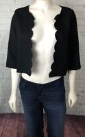 Everly Women's Shrug Cardigan Top Size M Black Career Dressy Casual
