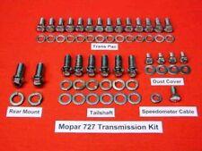 Mopar 727 Torqueflight Polished Stainless Steel Transmission Bolt Kit