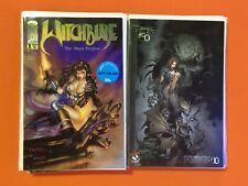 WITCHBLADE #1-15 NM RUN / 1st DARKNESS / #3 is 6X SIGNED by TURNER SILVESTRI +