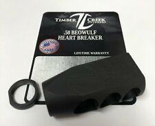 TIMBER CREEK - HEARTBREAKER - 49/64-20 - .50 BEOWULF BRAKE - BLACK - MADE IN USA