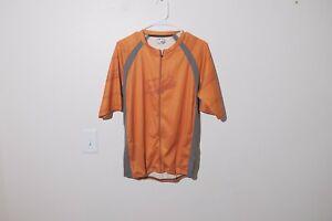 Fox cycling jersey mens size large orange mtb