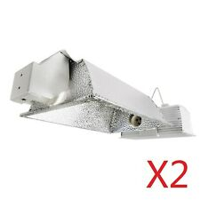 iPower 630W Double Lamp Ceramic Metal Halide Grow Light System Kits 2-Pack