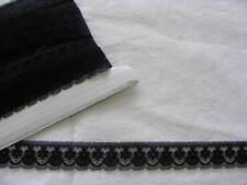 Flat Lace Black  - 20 metres (188)