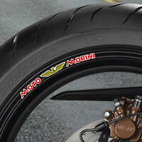 MOTO MORINI WHEEL RIM STICKERS 500 350 1/2 V