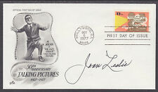 Joan Leslie, Actress, signed 13c Talking Pictures FDC