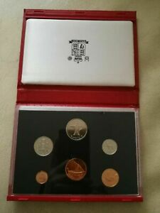 United Arab Emirates UAE 6 Coins 1989 SPECIMEN PROOF Set