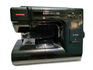 Janome HD3000BE Sewing Machine - Black