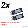 2x Base Modulo Bluetooth Arduino HC06 HC-06 - TRANSCEIVER MODULE BASE BOARD