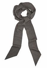 Passigatti Modeschal, Schwarz-weiß. 125 x 10 cm. NEU!!! KP 44,99 €