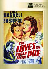 The Loves of Edgar Allan Poe 1942 (DVD) Linda Darnell, Shepperd Strudwick - New!