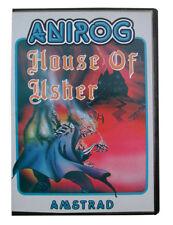 Amstrad jeu jeux Amstrad AMSTRAD ordinateur AMSTRAD House of Usher jeu Clam