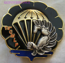 IN13476 - Insigne 15° C.M.L.Parachutiste, voile en relief, opaque