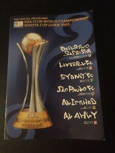 Programm Finale Club-Weltpokal 2005 : Liverpool FC - FC Sao Paulo