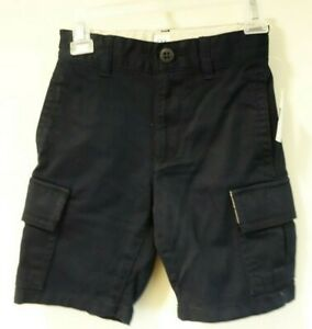 New With Tags Gap Kids Navy Cargo Shorts Boy's Size 4