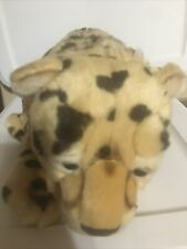 "FAO SCHWARZ Cheetah Leopard Stuffed Animal 17"" TOYS R US Jungle Wildcat PLUSH"
