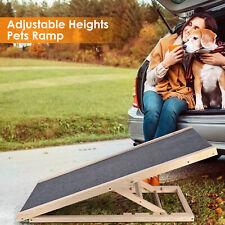 Pet Dog Cat Ramp - 4 Adjustable Heights Bed/couch - Pet Ramp - Support 110lb