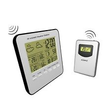 Aqua Systems Wireless Weather Station/Time/Calendar/Indoor/Outdoor Temp/Humidity