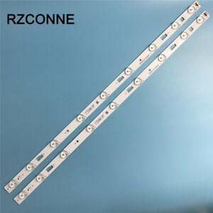 2pcs LED strip 9 leds for Haier 32'' TV D32TS7202 32HR331M09A5 V1 4C-LB3209-HR3