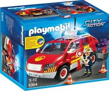 PLAYMOBIL Fire Chiefs Car With Lights and Sound Pmb5364