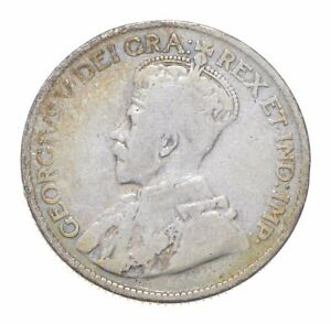 Better Date - 1918 Canada 25 Cents - SILVER *483