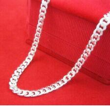 ".Wholesale lots 1pcs S925 Silver Single button Necklace size20""NN10-2"