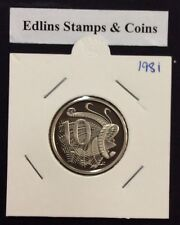 1981 10 cent proof coin