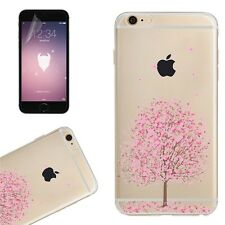 Blossom Flower Transparent Gel Tpu Case Phone Cover For iPhone 7 6 6s Plus 5s SE