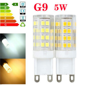 5W G9 LED Bulb 240V SMD Light Replacement Halogen Lamp Warm Cool White Corn Bulb