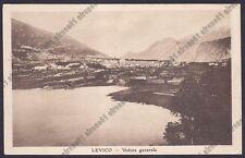 TRENTO LEVICO TERME 56 Cartolina viaggiata 1922