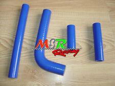 for YAMAHA WR400F WR426F YZ400F YZ426F 1998-2002 Silicone Radiator Hose blue
