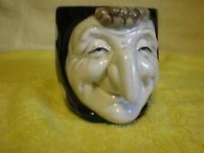 Fitz & Floyd 1979 Polka Dot Witch Halloween Cup Mug Fr/Shp