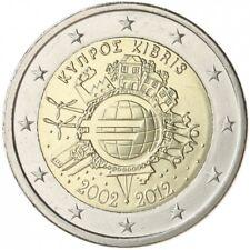 2 euros Chypre commémoratifs  2012  sortis du rouleau à saisir vite