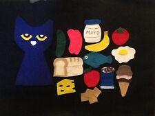 Pete the Cat Pete's Big Lunch Felt Flannel Board Story Teacher resource