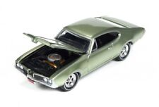 ' 69 Oldsmobile Cutlass 442 Green Poly 1969 * RR * Johnny Lightning Muscle 1:64 OVP