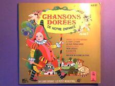 """Chansons dorees de notre enfance-Vol 1 (7"""") Housse Livre JUKE BOX FRENCH ALB 161"""
