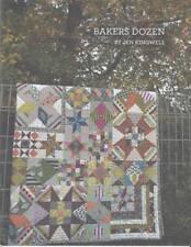 Quilt Pattern Booklet BAKERS DOZEN by Jen Kingwell