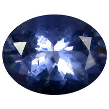 1.52 ct AAA Incredible Oval Shape (9 x 7 mm) Blue Iolite Natural Loose Gemstone
