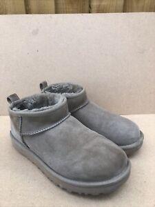 Ugg Womens Classic Ultra Mini Boots - Antilope UK Size 6