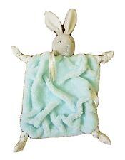 Doudou Lapin Kaloo  Collection Plume bleu  noeud bleu raye blanc  NEUF