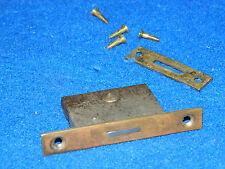 vintage ancien SERRURE encastrable TRIANGLE lock HARMONIUM strasbourg ROETHINGER