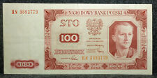 Polen / Poland 100 Zlotych von 1948 in sehr guter gebrauchter Erhaltung..779 !!⓴