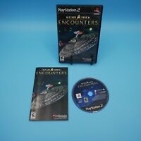 Star Trek Encounters 2006 PS2 Complete Manual Tested/Working Sony PlayStation 2