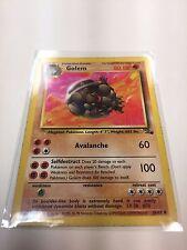 Pokemon Card - Base Golem 36/62 RARE Fighting Type NM