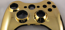 Gold Xbox 360 Transforming D Pad Controller Shell Front Face Plate NEW UNUSED
