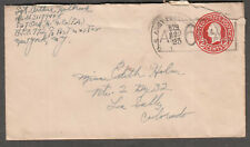 1945 WWII cover Sgt Arthur Holbrook 567 Ord H M Co APO 772/529 Marseille France