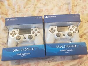 Sony PlayStation DualShock4 PS4 Wireless Controller - WHITE
