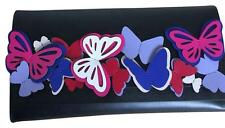 "NWT KATE SPADE BLACK/ MULTI "" Show Your True Colors"" Butterfly Clutch ($279+TAX)"