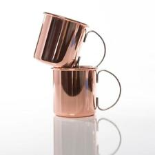 Moscow Mule Mugs - Set of 2 Copper Plated Mugs